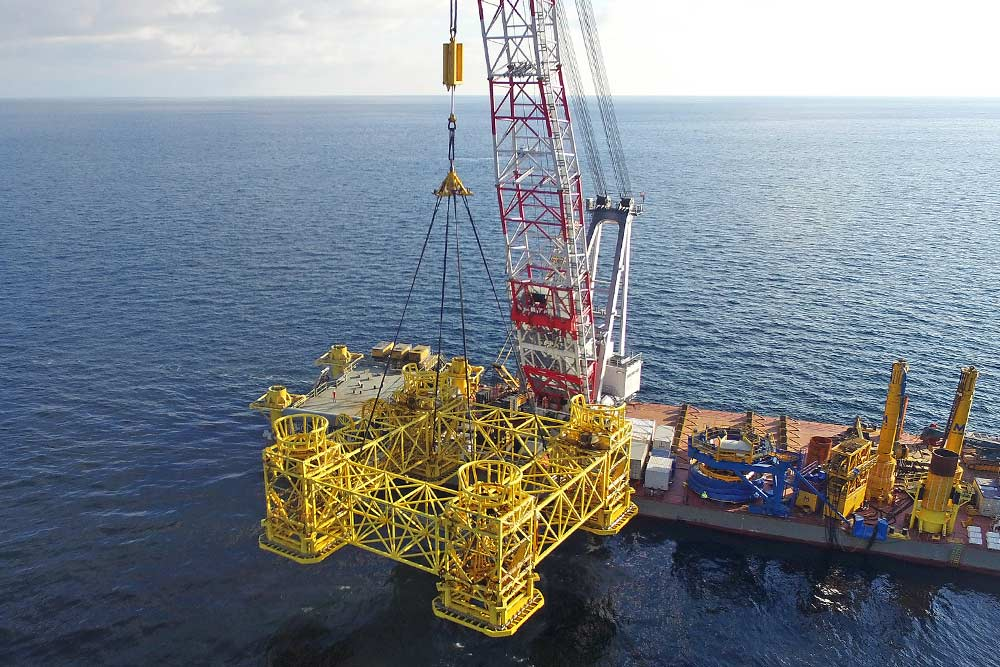 Installation work with Boskalis at the Wikinger OWF