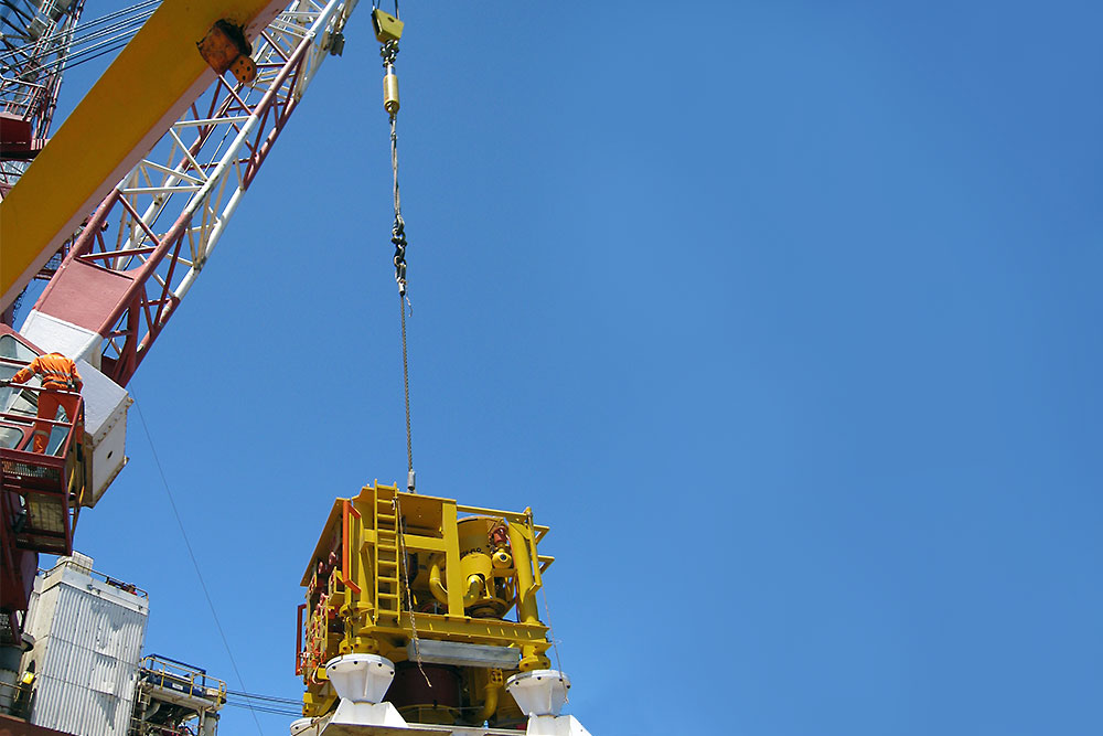 Lifting capacity increased for higher sea states